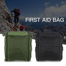 Lixada Medical Molle Pack Pouch First Aid Bag First Aid Kit Empty Bag Travel Emergency Survival Pouch Medical Supplies Bag(China)