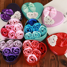 Розовое Мыло, букет цветов, украшение для свадебной вечеринки, подарок на день Святого Валентина, искусственные сушеные цветы, праздничные принадлежности, новинка