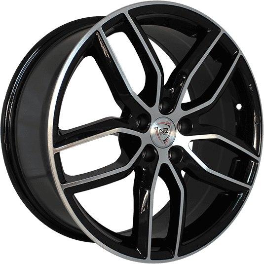 NZ SH656 8x18/5x105 ET45 D56.6 BKF литой диск nz wheels sh656 8x18 5x105 d56 6 et45 bkf