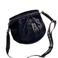 Saddle Bag Handbag 2019 New Horse Hair Bag Tide European And American Fashion Shoulder Bag Casual Wide Shoulder Strap Messenger