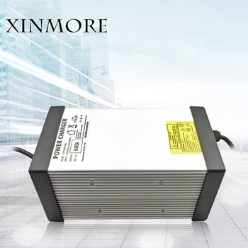 XINMORE 87V 8A 7A 6A Lead Acid Batt Charger For 72V E-bike Li-Ion Battery Pack AC-DC Power Supply for Electric Tool