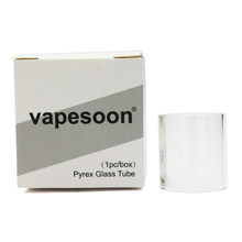 1pcs Authentic VapeSoon Replacement Glass Tube For Vaptio Vape Pen Kit Solo 2 4ml tank(China)