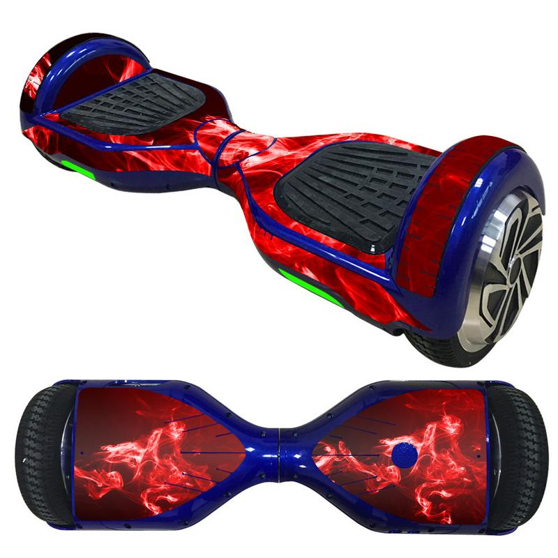 6.5 Inch Hoverboard <font><b>Sticker</b></font> Electric <font><b>Scooter</b></font> Bike Gyroscooter <font><b>Sticker</b></font> Two Wheel Self Balancing Bike Hover Board Skateboard image