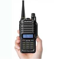 Baofeng UV-9R плюс Портативный 10 W IP68 Водонепроницаемый Обновление версии двухстороннее 65 МГц-108 МГц радио УКВ Мини Walkie Talkie телефон
