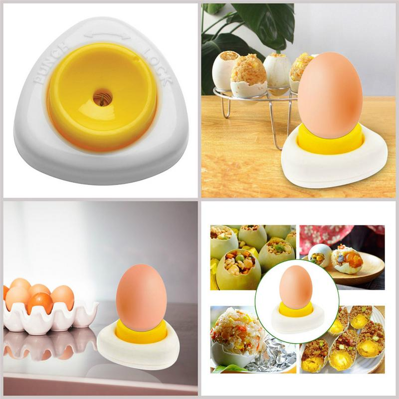 Innovative Egg Piercer Pricker Dividers Beater With Lock Kitchen Craft Semi Automatic Kitchen Dining Bar Cooking Tools Egg Tools in Egg Beaters from Home Garden