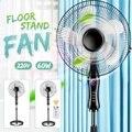 Ventilador de pie de 16 pulgadas ventilador mecánico/control remoto enfriador de aire de verano de refrigeración del suelo del hogar ventilador de pie aire acondicionado