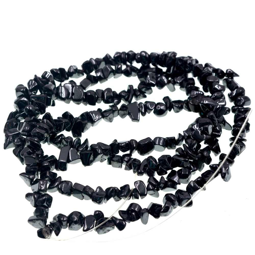 Wholesale Natural Stone Beads 4-8mm Freeform Hematites Chips  Loose Bead For Jewelry Making