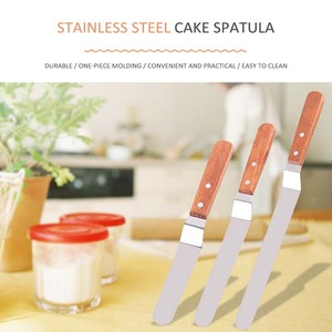 Image 5 - Cake Decorating Tools Stainless Steel  Baking & Pastry Tools Portable Cream Spatula Cake Butter Accessories Kitchen Gadgets