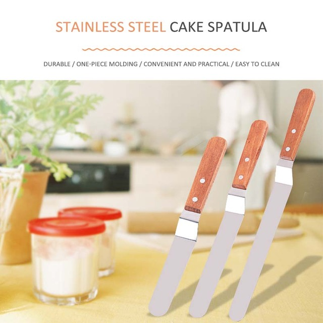 Cake Decorating Tools Stainless Steel  Baking & Pastry Tools Portable Cream Spatula Cake Butter Accessories Kitchen Gadgets
