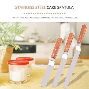 Image 5 - Spatules à crème portables, outils de décoration de gâteaux, ustensiles de pâtisserie et de pâtisserie, acier inoxydable, Gadgets de cuisine