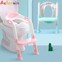 Foldable Baby Toilet Ladder Children's Potty Children's Chair Potty Training Toilet Seat Toilet Bowl For Kids Newborns Babies