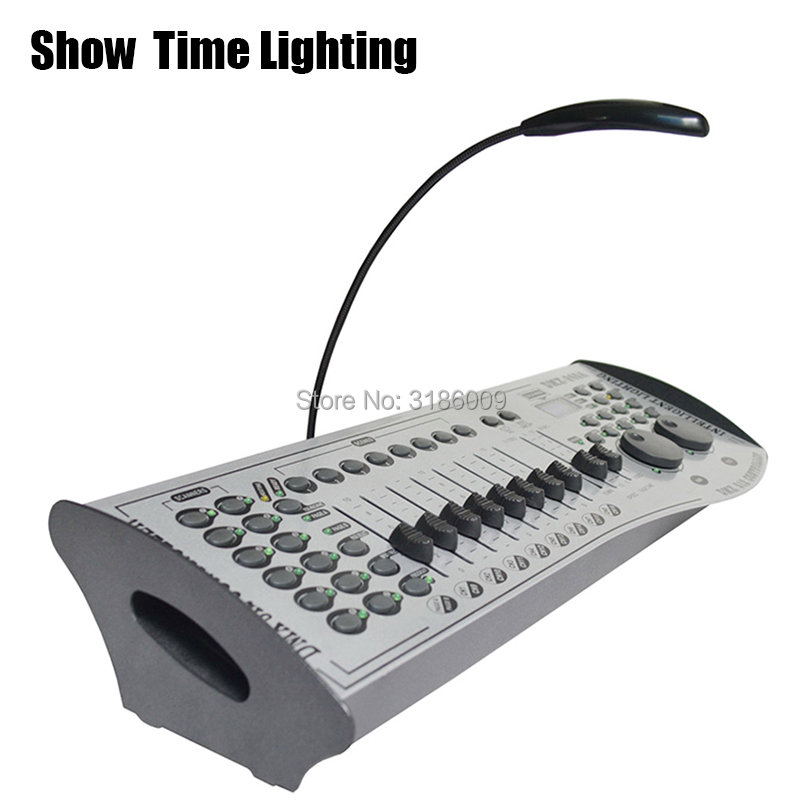 Hot sale DMX 240A Controller 512 Console Stage Lighting DJ Equipment Control LED Par Moving Head Spotlights Showtime