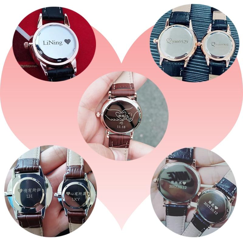 RENOS Klocka Kvinnor Med Box Enkel Svart Vit Rosa Armbandsur Mode - Damklockor - Foto 2