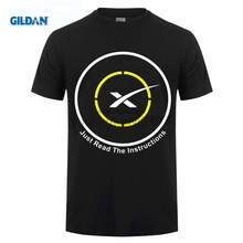 GILDAN Autonomous spaceport drone ship of SpaceX Just Read the Instructions T-Shirt Men and men Tee big Size S-XXXL