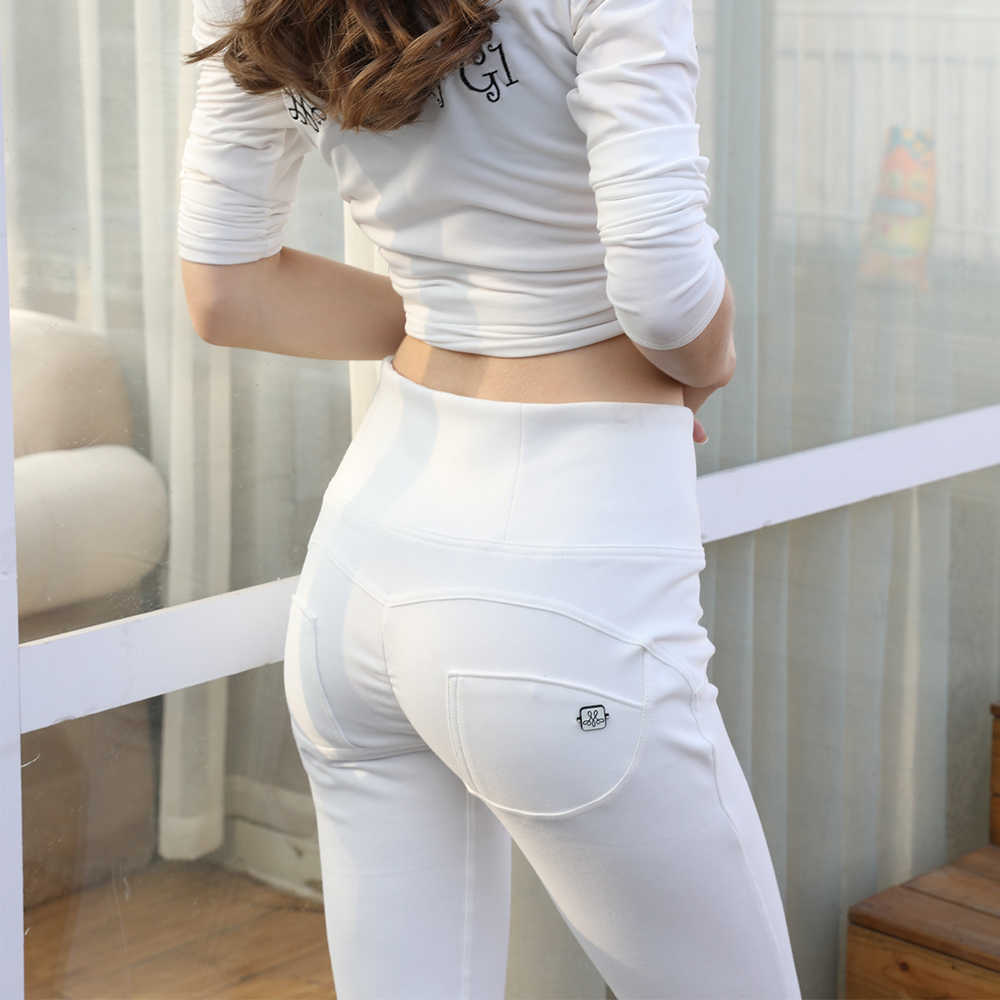 6f46677ab0217a ... Melody knitted wholesale yoga pants skin tight leggings women shaping  effect yoga pants white super high ...