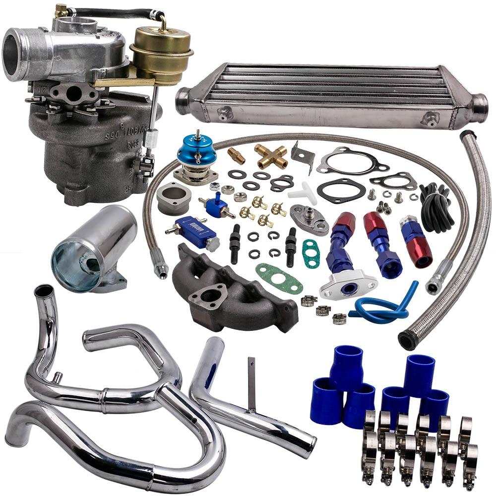 K04 Turbo pour AUDI A4 1.8 T turbocompresseur avec contrôleur de suralimentation + joint de collecteur K04-015 Turbo chargeur 06A253033AB