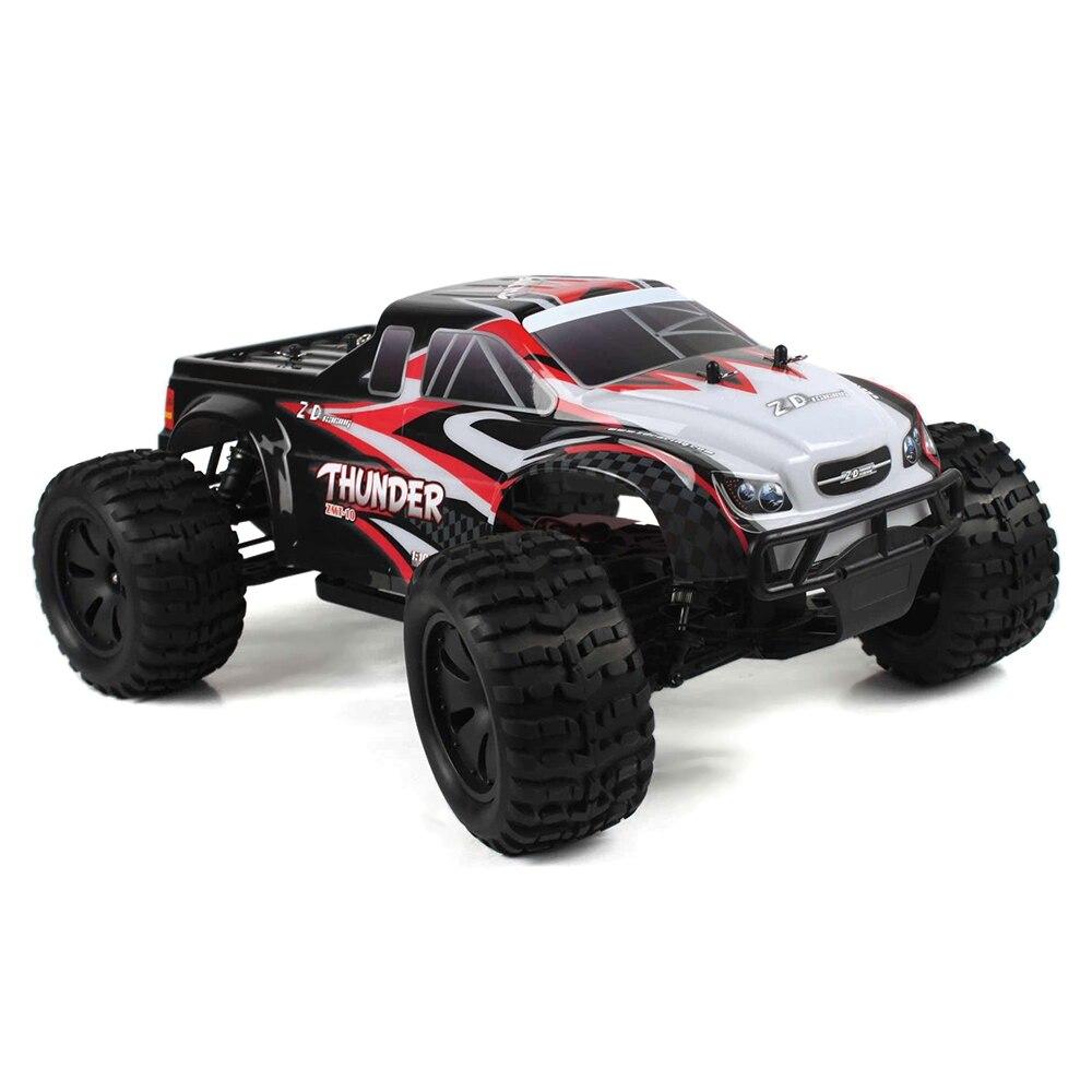 ZD Racing 10427-S 1:10 camion RC grand pied RTR 2.4 GHz 4WD/résistant aux éclaboussures 45A ESC/3.5 kg camion monstre Servo RC à couple élevé
