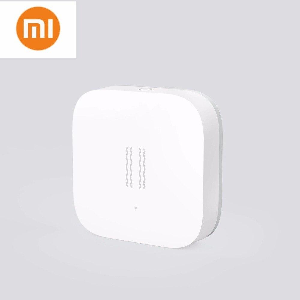 Newest Xiaomi Aqara Shock Sensor Mijia Aqara Smart Motion Sensor Vibration Detection Alarm Monitor For Mihome App