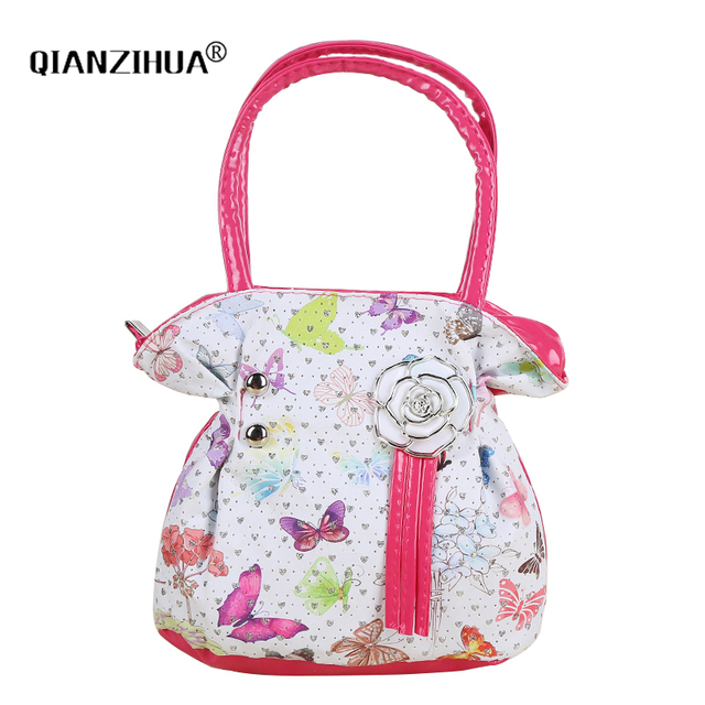 Kids Children Mini Handbags Pu Printing Baby Shoulder Bags Clutch Women S Party Purse Totes