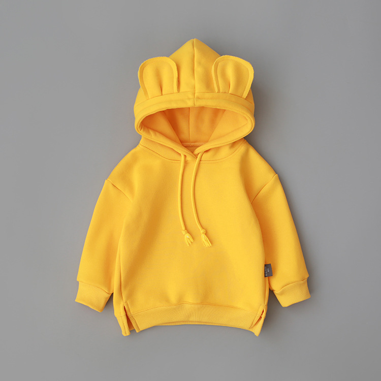 2019 New Spring Autumn Baby Boys Girls Clothes Cotton Hooded Sweatshirt Children's Kids Casual Sportswear Infant Clothing