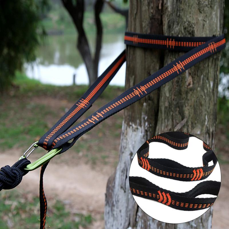 Outdoor Accessories Camping Strap Foldable Hammocks Portable Camping Hiking Backyard Tree Outdoor 25mm*280cm*1.2mm