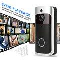 Wi-Fi Кольцо Дверной звонок смарт-Беспроводной дверной звонок, камера видео дома приветствующий дверной звонок сигнализации умный беспровод...