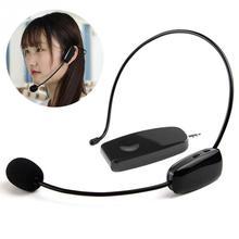 Wireless Microphone UHF for Voice Amplifier Computer Professional Microphones Earphones