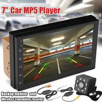 7 inch 2DIN bluetooth WIFI Car Android Radio Stereo FM MP5 Multimedia Player GPS Navigation Wireless Receiver Rearview Camera