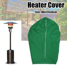Universal 600D Patio Heater Cover Protector for Mushroom Shape Type Heater Cover Waterproof UV Resistance Outdoor Home Garden(China)