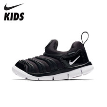 NIKE DYNAMO FREE Official Kids New Arrival Breathable Sneakers Comfortable Anti-slippery Running Sport Shoes  #343938-013 цены
