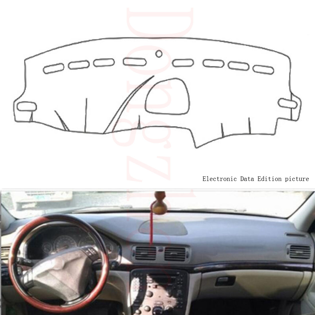 Dongzhen Fit For Volvo S80 2004 To 2006 Car Dashboard Cover Avoid Light Pad Instrument Platform Dash Board Cover
