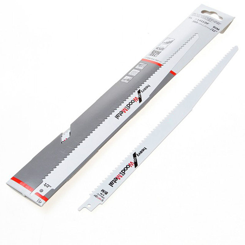 """1*BIM Saw Blade 300mm 12"""" inch 6 TPI Reciprocating Saw Blade Tools for Bosch Metal &Wood Cutting High Quality Tool Parts     - title="""