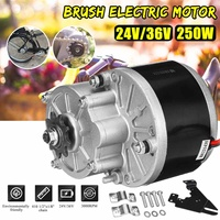 250W 24V/36V Electric Bicycle Motor For 410 1/2x1/8'' Chain Electric Bicycle/Bike E bike Scooter Conversion Kit Set Accessories
