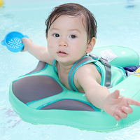 Baby Swiming Ring Free Inflatable Neck Collar Circle Float For Children PVC Kid Swimming Pool Accessories Swim Trainer Toys