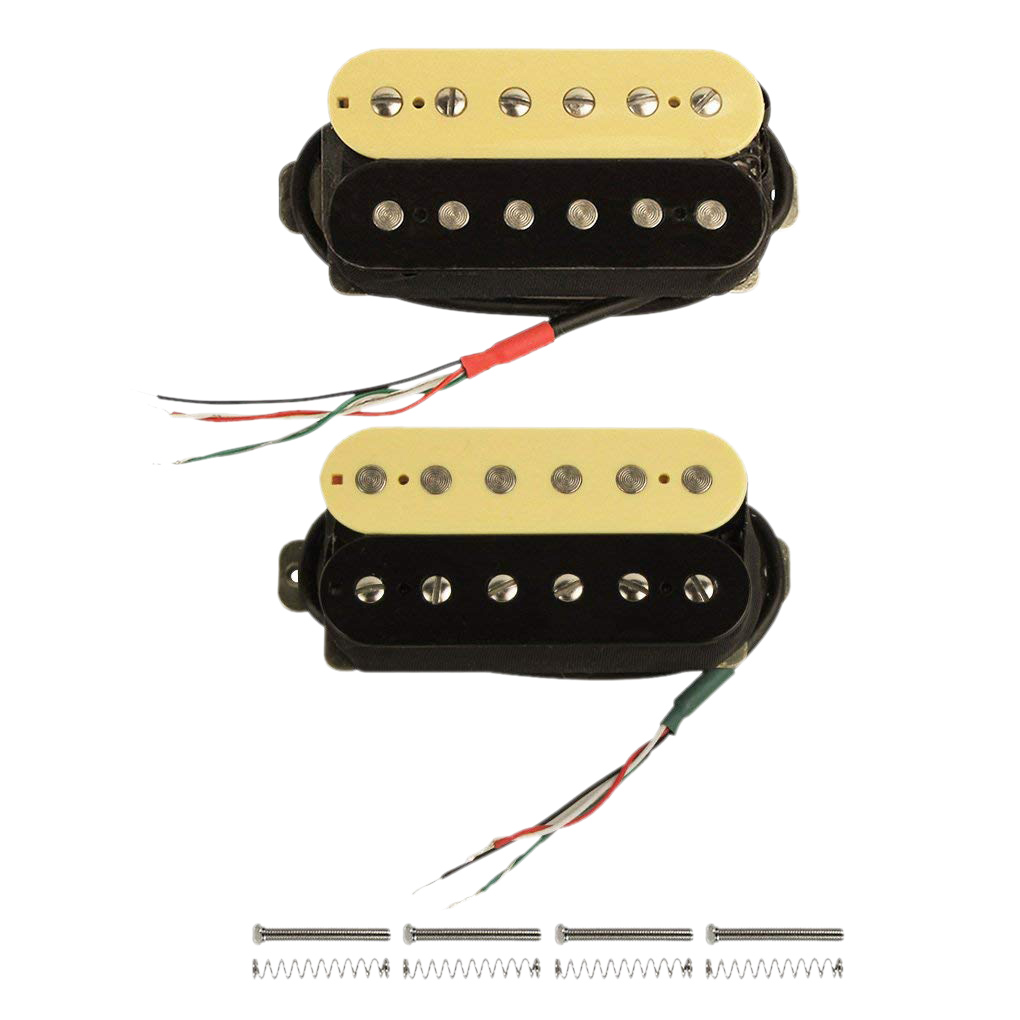 Электрогитара Humbucker пикапы Alnico V пикап (Зебра + черный)