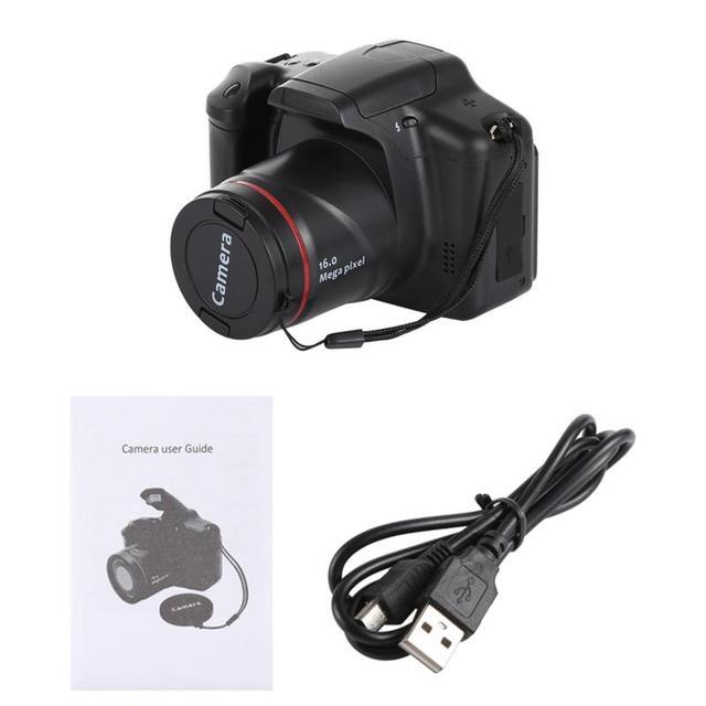 Portable Digital Camera Camcorder Full HD 1080P Video Camera 16X Zoom AV Interface 16 Megapixel CMOS Sensor
