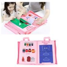Soft Kid Cloth Book Panting Book Manual Intelligence Puzzle Children Toy Book Early Education Infant Colorful Reading Book(China)