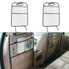 Автомобильные сиденья для детей анти-подушка для отработки ударов Водонепроницаемый защита сиденье Чехлы для задней панели грязеотталкивающая защита от грязи, грязи, царапин