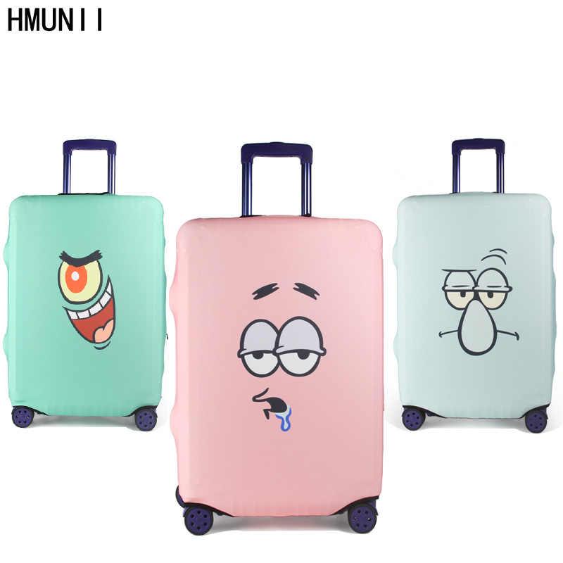 88e8098130b2 HMUNII модный чемодан на колесиках крышка чемодан для путешествий защитный  Чехлы для мангала Капа protetora para