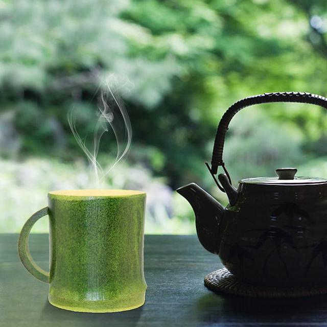 Creative Universal Eco-Friendly Natural Bamboo Coffee Mug