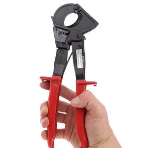 Image 3 - יד Plier אדום HS 325A מתחת 240 מילימטר מרובע יד Ratchet כבלי קאטר Plier מחגר חוט קאטר Plier יד כלי