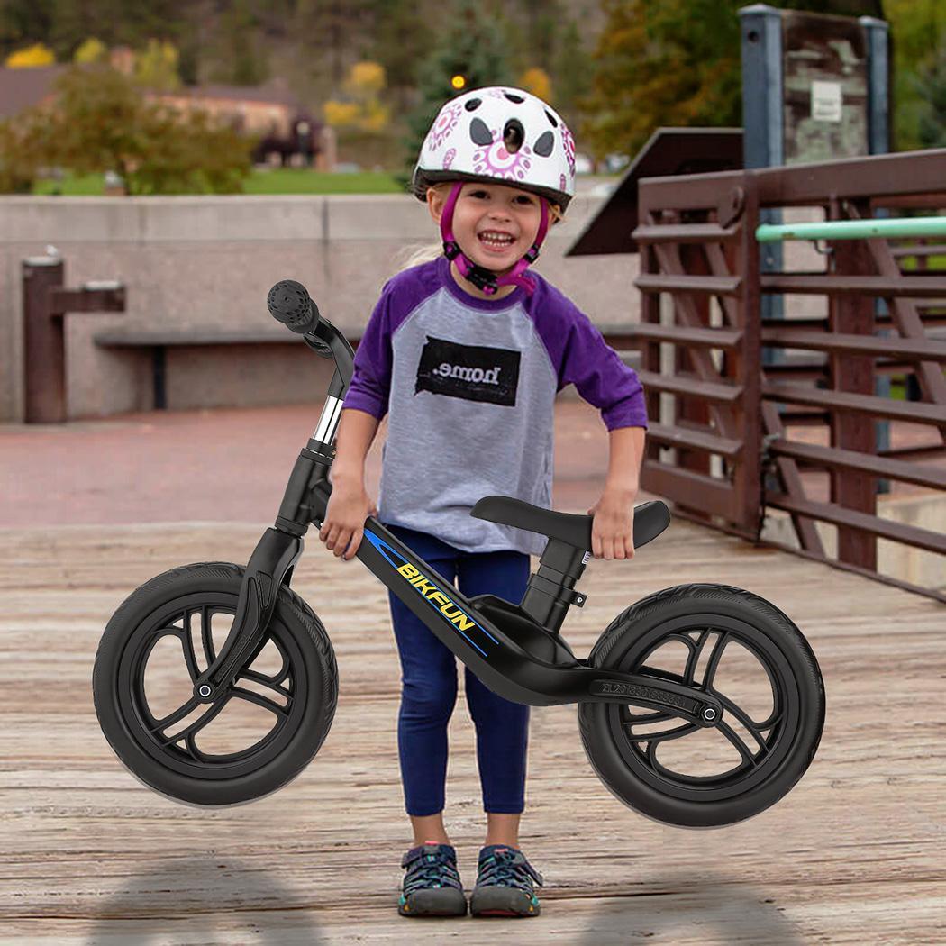 11.8-15.7 pouces enfants Balance vélo enfant pousser pas de pédale entraînement vélo siège réglable enfants apprendre à monter équilibre sportif - 3
