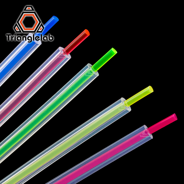 Trianglelab High Transparency PTFE Tube Teflonto MMU2.0 for ender-3 i3 anet mk8  Bowden Extruder 1.75mm filament ID2mm OD4mm
