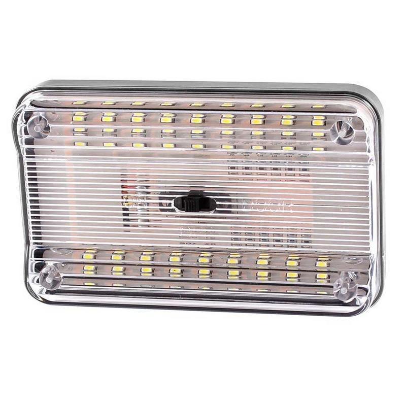 12V 36 LED Car Roof Lamp Universal Trunk Lamp Ultra Thin Waterproof High Brightness Car Vehicle Interior Lights