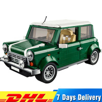 Free Shipping 1108 Pcs MINI Cooper Car Model Building Kits Blocks Bricks Toys for Children Compatible Legoingly 10242