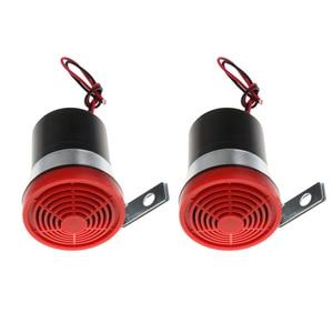 2pcs 12V Reversing Alarm Backup Horn Reverse Siren Beeper Buzzer Warning Alert for various Engineering Vehicle, autos trucks