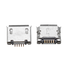 LEORY 5 шт. Micro usb Тип AB Женский 180 DIP 5Pin разъем для пайки разъем SMT