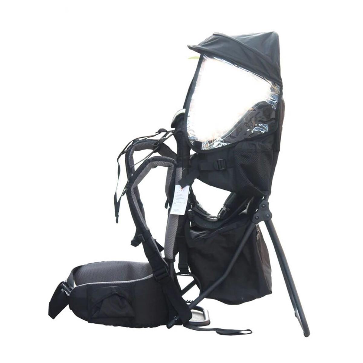 Charge 30kg réglable en plein air bébé enfant en bas âge sac à dos Camping escalade sac étanche alpinisme randonnée enfant enfant porteur - 3
