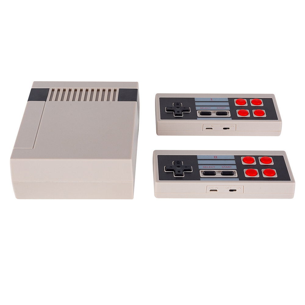 Jy01 Mini Handheld Tv Video Spielkonsole Familie Spielkonsole Dual Gamepad 2,4g Wireless Controller Eingebaute 300 Klassische Spiele Top Wassermelonen Videospiele Videospielkonsolen
