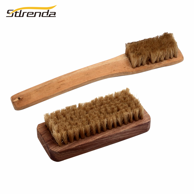 Abrasive Tools Spirited Stlrenda Bamboo Bristle Brush Wood Nylon Handle Hair Comb For Laundry,wahing Shoes,bathtub Brush Soft And Flexible Blade Latest Technology